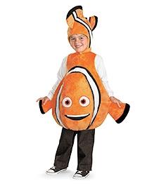 Disney Nemo Deluxe Child Costume - Orange