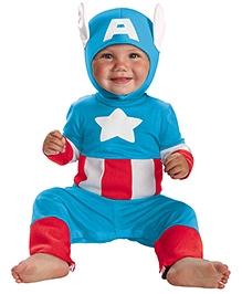 Marvel Captain America Toddler Costume - Navy Blue