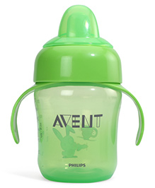 Avent Sipper With Handle Green 260 ml