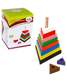 Eduedge Lets Solve Grade N Stack Triangles - 9 Pieces