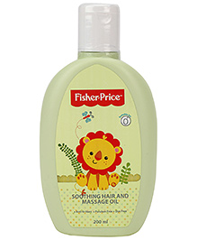 Fisher Price Soothing Hair And Massage Oil - 200 Ml