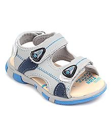 Doink Floater Sandals Three Velcro Straps - Light Steel Blue