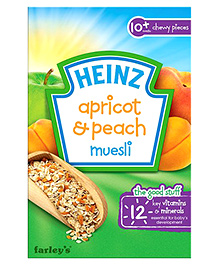 Heinz Apricot And Peach Cereal - 200 grams