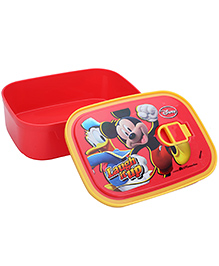 Mickey Mouse And Friends Lunch Box - Red