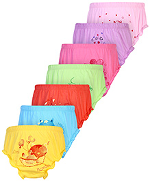 Simply Panties Multi Print Pack of 7 - Assorted Colours