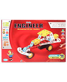 Veer Creation Little Engineer Racer Set - 12 Models