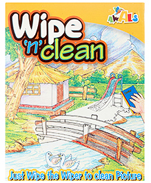 Awals Wipe N Clean Kit - Multi colour