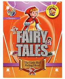 Chitra Fairy Tales Sticker Book The Little Red Riding Hood - English