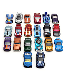 Hotwheels Cars Pack Of 20 - Multicolour