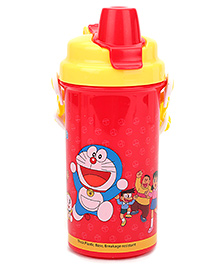 Doraemon Sipper Bottle Red And Yellow - 500 ml