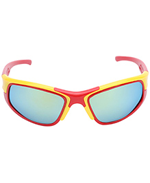 Hopscotch Kids Sunglasses - Red And Yellow