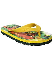 Liberty Footfun - Green Dino Slipper
