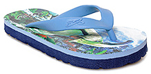 Liberty Footfun - Blue Dino Slipper