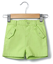 Beebay Solid Colour Short - Lime Green