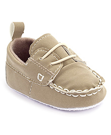 Cute Walk Booties- Beige