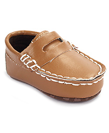 Cute Walk Shoes Style Booties - Brown