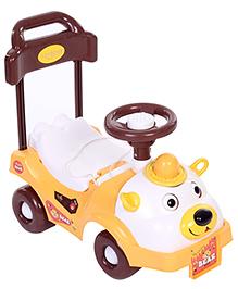 Toyzone Bear Rider Manual Push Ride On Yellow - 50247