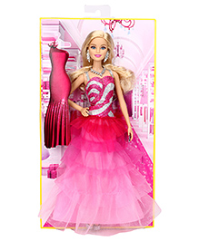 Barbie Pink And Fabulous Doll - 31 cm