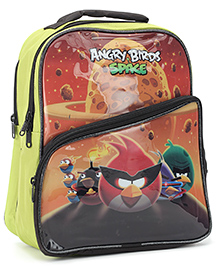 Angry Birds School Bag Green - 14 Inches