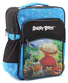 Angry Birds School Bag Aqua Blue - 14 Inches