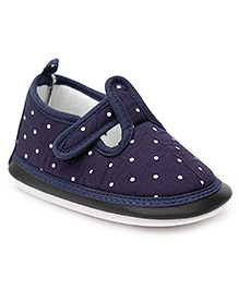 Little's Musical Shoes - Navy Blue