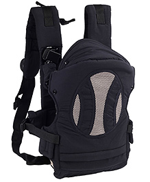 4 In 1 Soft Baby Carrier Black - 5003