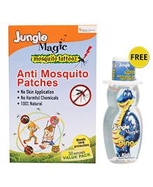 Jungle Magic Mosquito Tattooz Anti Mosquito Patches