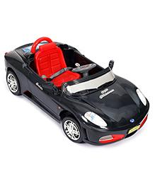 Remote Control Mini Stimulation Super Children Ferrari Car - Black