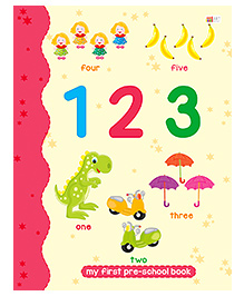 123 Numbers Book - English