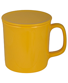 L'Orange Cup With Lid - Yellow