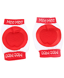 Mee Mee Knee Pad - Red And White
