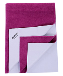 Quick Dry Bed Protecting Sheet Small - Orchid