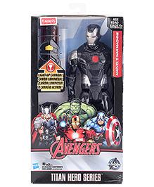 Avengers Titan Hero Series Light Up Battle War Machine Figure - Height 29 cm