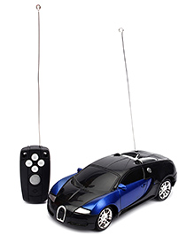 Remote Controlled Car - Blue And Black