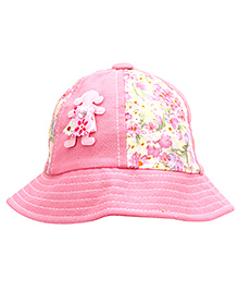 Babyhug Bucket Cap Doll Patch - Pink