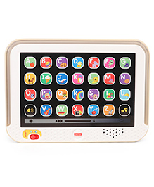 Fisher Price Laugh And Learn Smart Stages Touch Screen Tablet - White