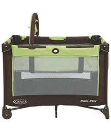 Graco Pack 'n Play On The Go Playard Go Green - Green And Brown