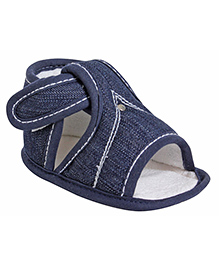 Littles Denim Sandal - Navy Blue