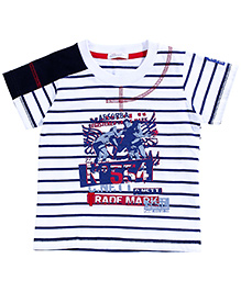 Absorba Ranf Mark Navy Striper Tee