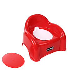 Babyhug  2 in 1 Baby Potty Cum Chair - Red