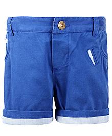 Nauti Nati Plain Shorts - Blue