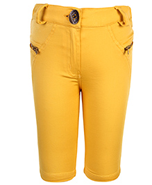 Little Kangaroos Solid Capri - Yellow