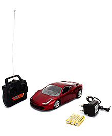 Remote Controlled Car - Maroon