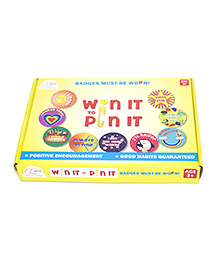 CQKids Win It to Pin It - Set of 9 Badges