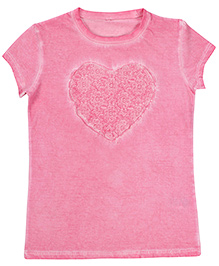 United Colors of Benetton Short Sleeves Top - Pink