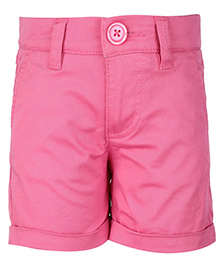 United Colors of Benetton Shorts - Pinkish Purple