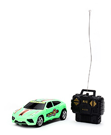 Radio Controlled Super 16 Car - Parrot Green
