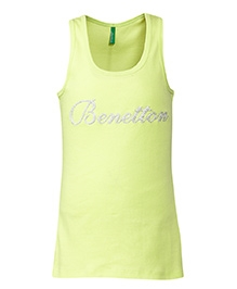 United Colors of Benetton Sleeveless Top - Yellow