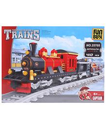 Fun Blox Train Block Set Multicolor - 410 Pieces