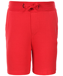 United Colors of Benetton Solid Color Short Pants - Red
